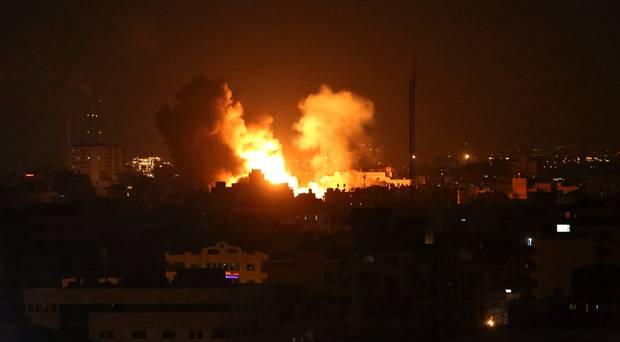 Hamas hits building in Israel, threatens more rocket attacks