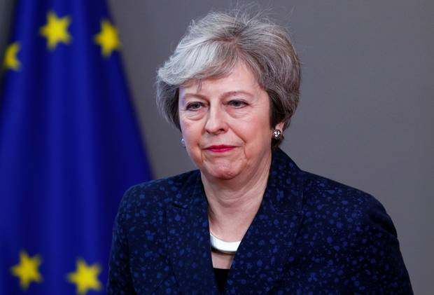 British PM May suffers fresh defeat on Brexit strategy