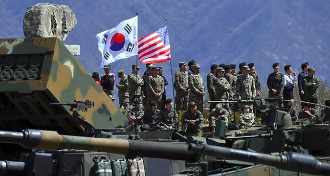 US & South Korea agree to indefinitely suspend two training exercises