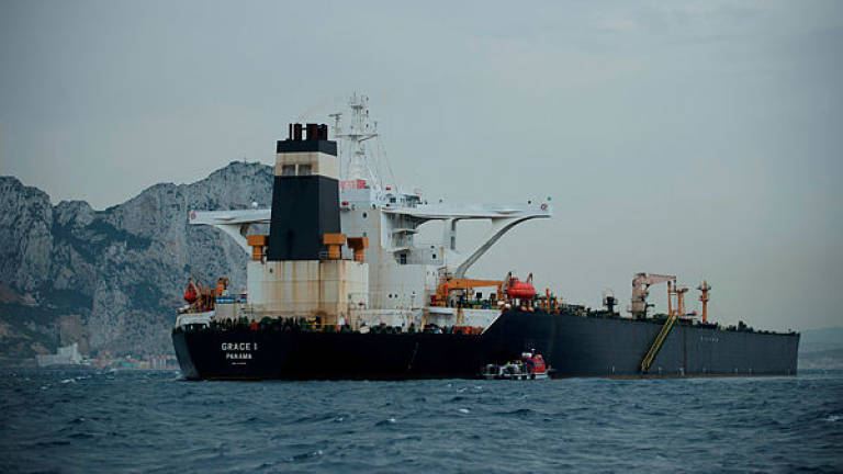 Iran denies oil tanker detained by Britain was carrying crude to Syria