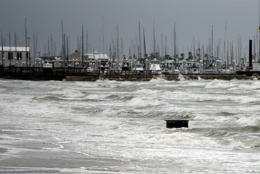 Tropical storm Nicholas downgraded from hurricane after making landfall on Texas coast