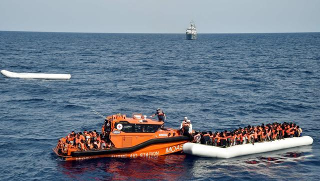 100 feared dead in Mediterranean after migrant boat capsize