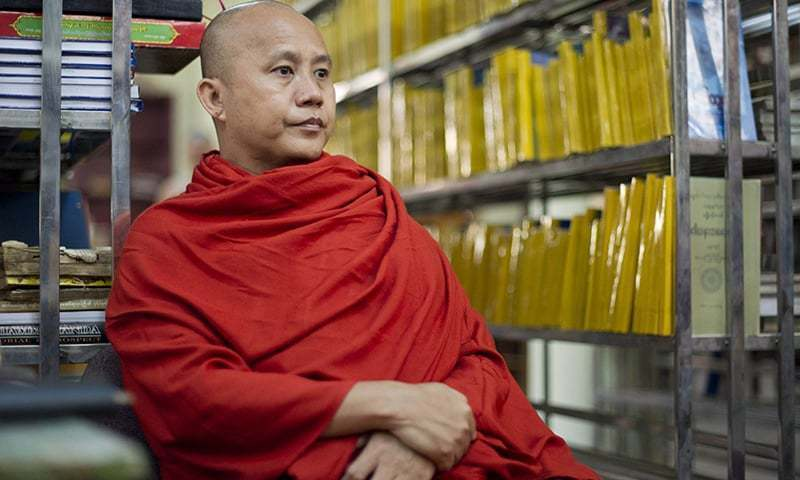 Facebook disables  Myanmar monk
