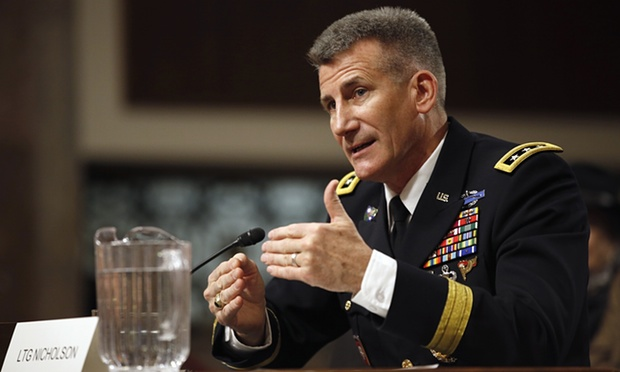 US General John Nicholson new NATO commander in Afghanistan
