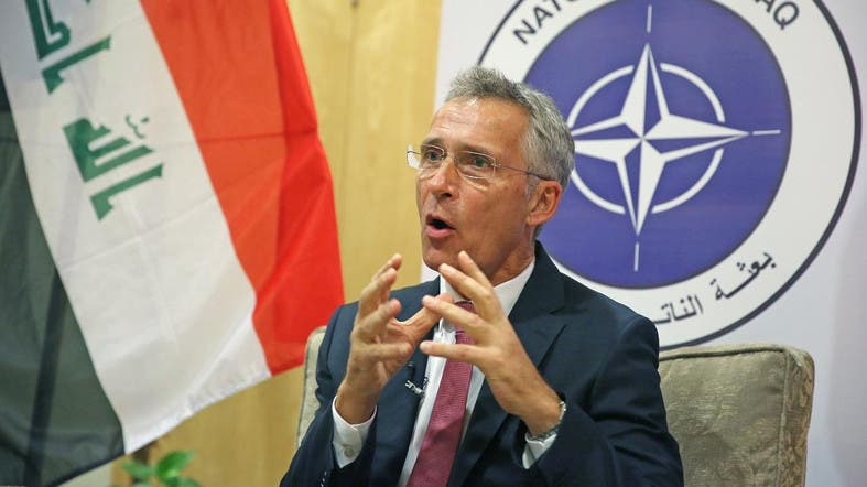 NATO chief Jens Stoltenberg says