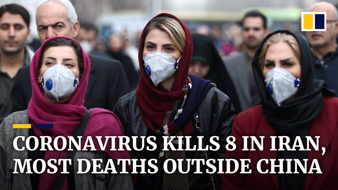 Death toll from coronavirus rises to 8 in Iran