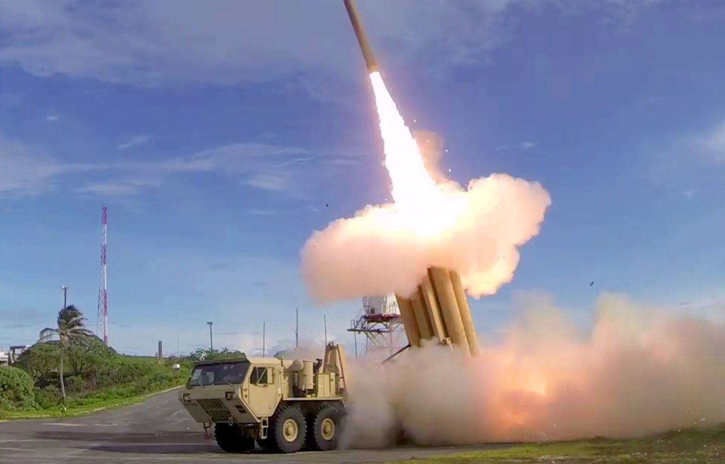 US military successfully tests ballistic missile intercept system