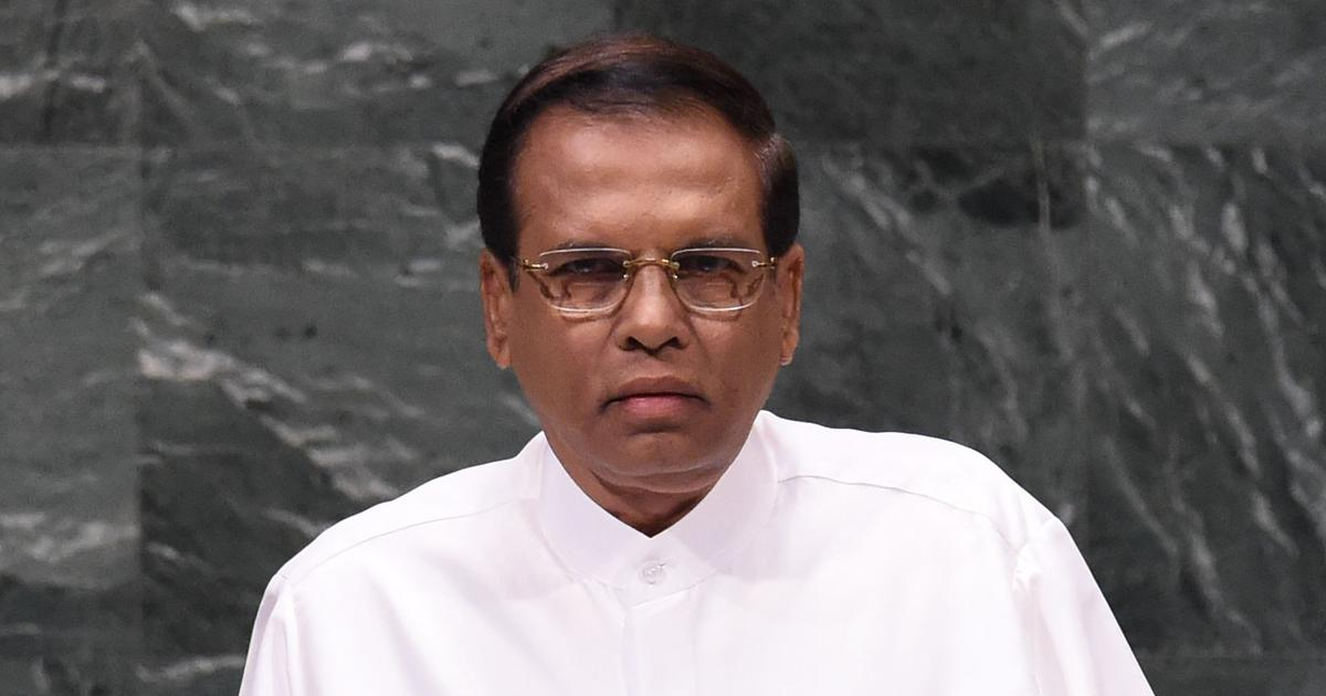 Sri Lankan President Maithripala Sirisena calls for all party conference