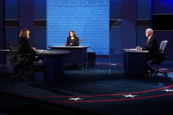 usvicepresidentmikepenceclasheswithdemocraticchallengerkamalaharrisinvicepresidentialdebate
