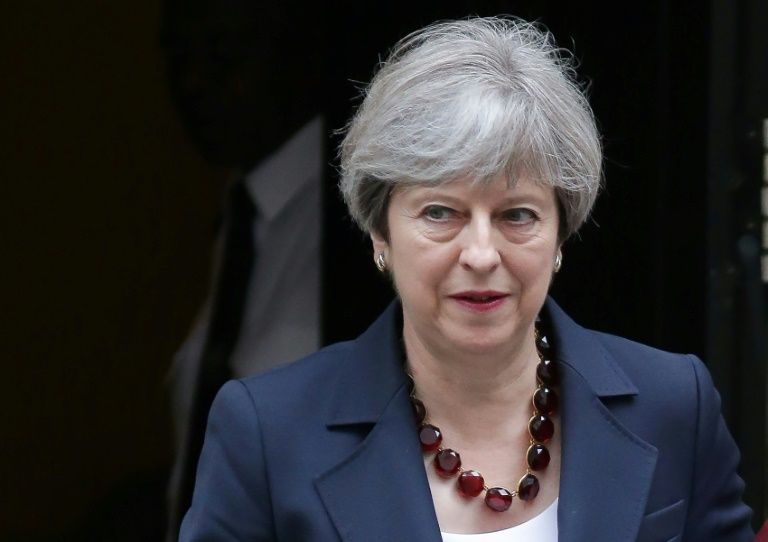 British PM Theresa May wins first confidence vote