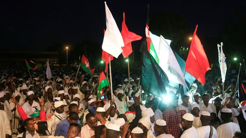 19 people killed in anti-govt clashes in Sudan