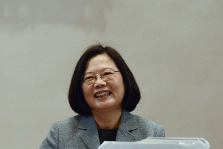 Taiwan President Tsai Ing-wen says she will run for re-election in 2020