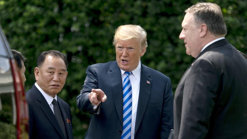 Summit with Kim Jong-un in Singapore on June 12 is back on: Trump