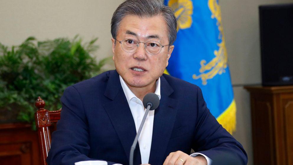southkoreaprezsleftleaningrulingpartywinsabsolutemajorityinparliamentaryelections