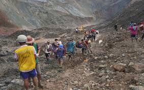 At least 162 people killed in Myanmar Jade mine collapse