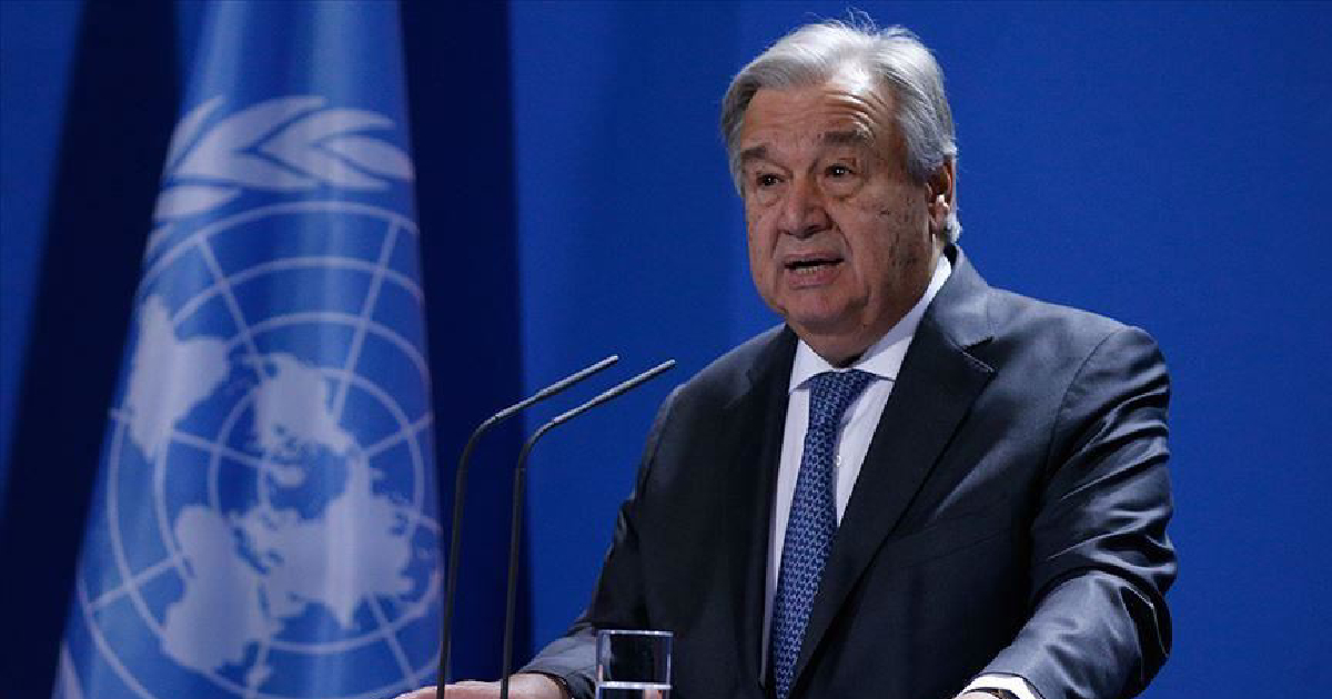 UN chief Antonio Guterres urges ceasefire in Libya to start political process