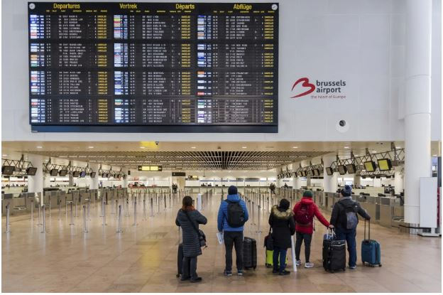 All Belgium flights cancelled as workers stage national strike