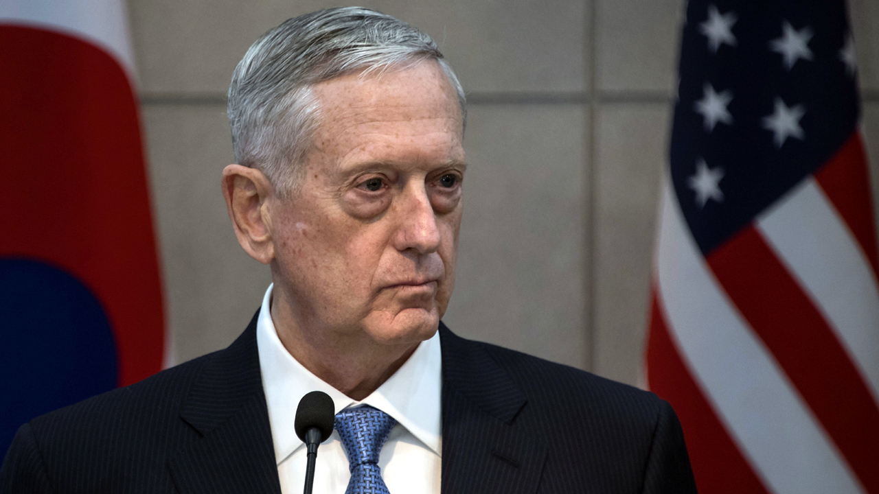 James Mattis warns Syria on usage of chemical weapons