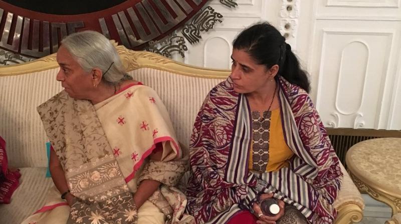 Kulbhushan Jadhav meets wife, mother at Pakistan MOFA : Officials