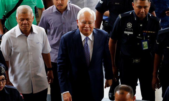 Malaysian ex-PM Najib