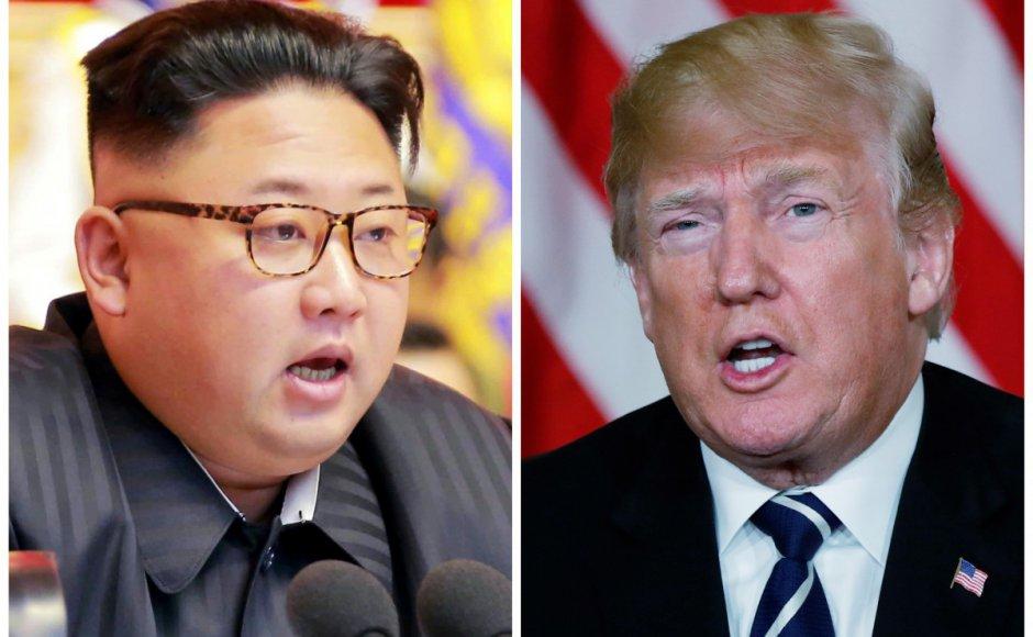 US President Donald Trump and North Korea