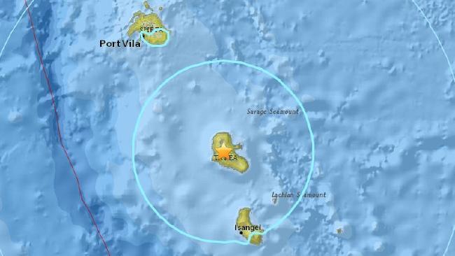 6.4 magnitude earthquake hits Vanuatu