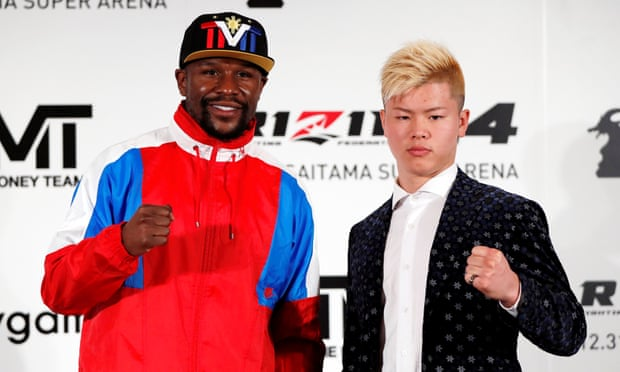Floyd Mayweather to fight Japanese kickboxing sensation on New Year