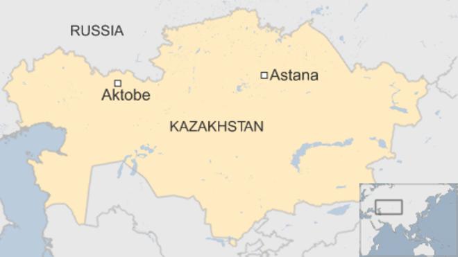 Six killed in militant attacks in Kazakhstan