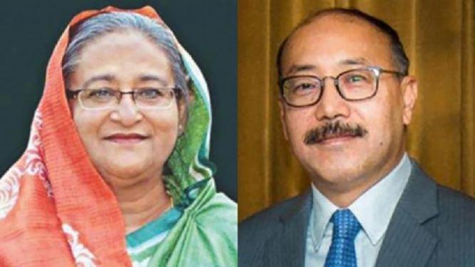 foreignsecretaryshringlameetsbangladeshpmsheikhhasinaindhaka