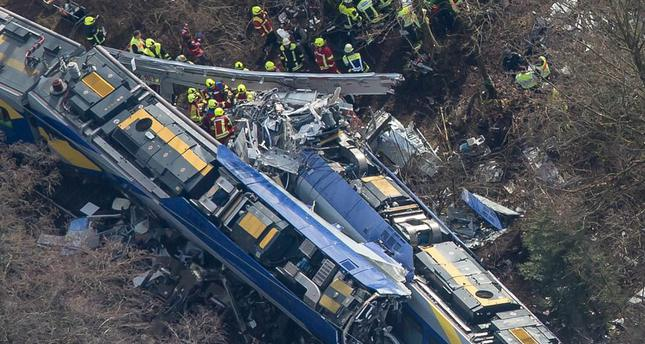 9 Killed, 150 injured in train crash in Germany