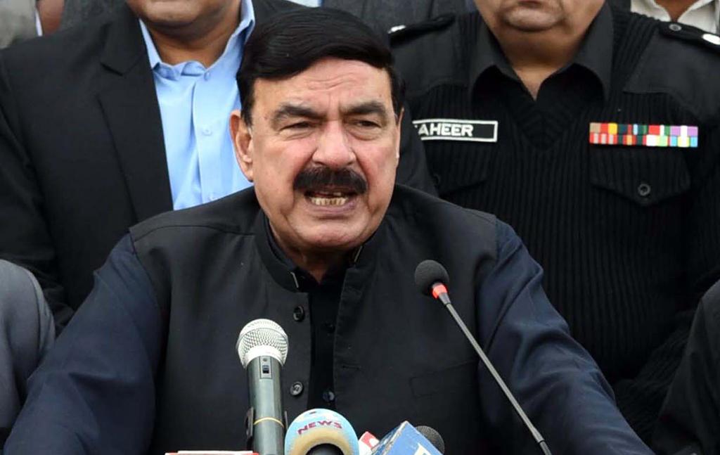 Pakistan Railways Minister Sheikh Rashid Ahmad says next 72 hours crucial
