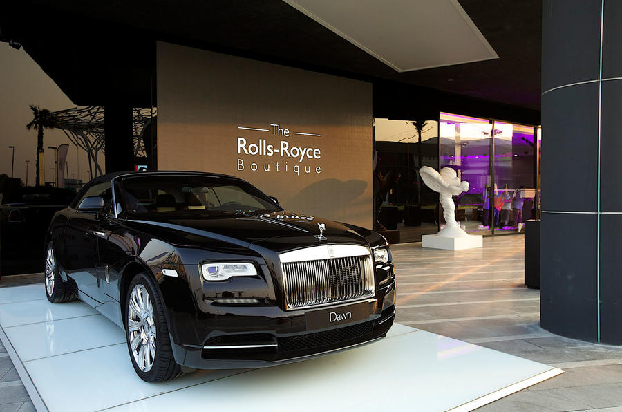 Rolls-Royce Boutique showroom opens in Dubai