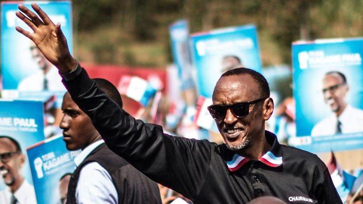 Rwandan President Paul Kagame set for landslide win in presidential election