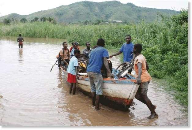 Floods kill 23 people in Malawi