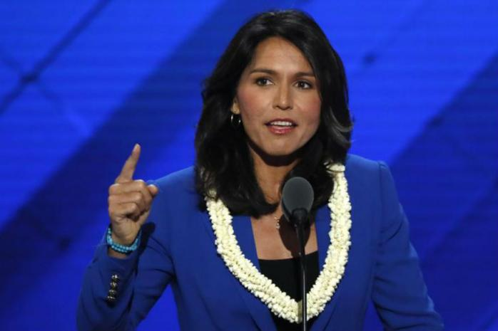 Tulsi Gabbard seeks apology from Indian-American Senator Kamala Harris