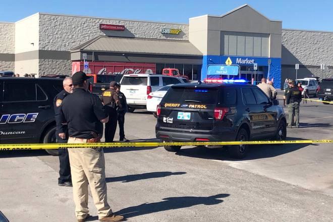 Three dead in Oklahoma Walmart shooting