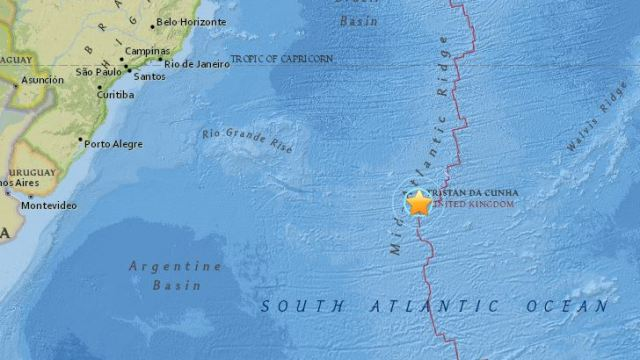 Strong 6.9 earthquake strikes in mid-Atlantic: USGS