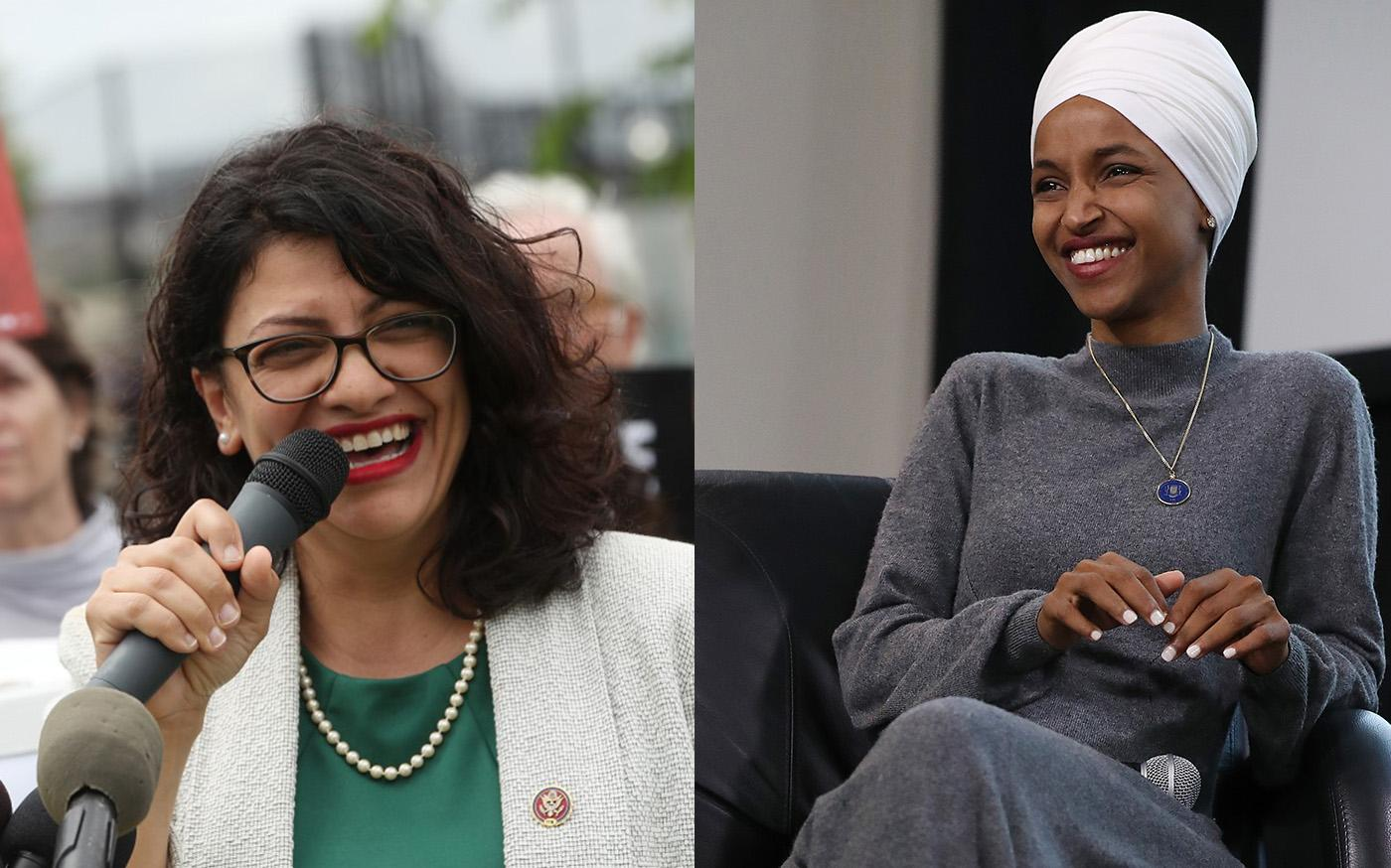Israel bars US Congresswomen Rashida Tlaib, IIhan Oman to enter the country