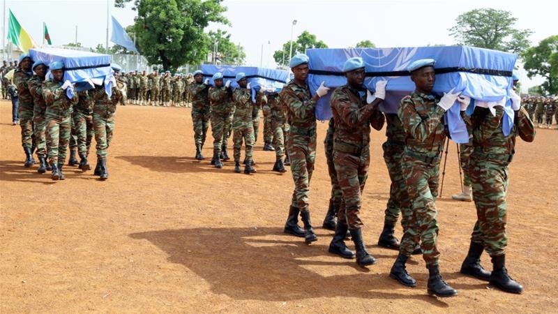 Four UN peacekeepers killed in Mali