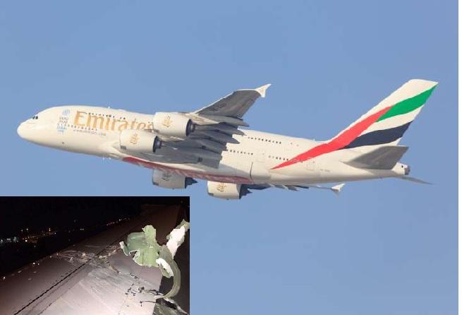 emiratesplanecollideswithanotheraircraftinsingapore