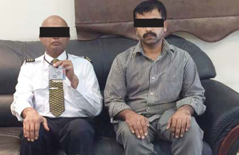 Indian working for an airline arrested for facilitating the entry of people who had been deported from Kuwait