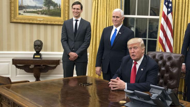 presidentdonaldtrumpbeginsfirstfulldayasleaderofthefreeworld