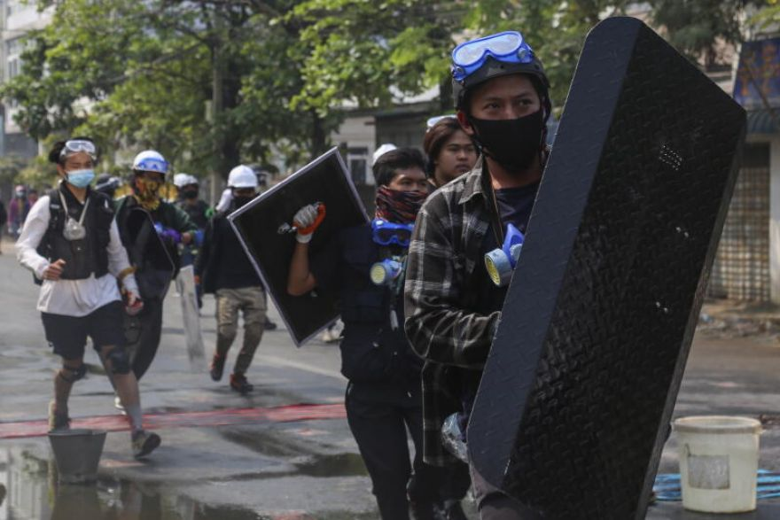 sevenkilledinmyanmarprotests