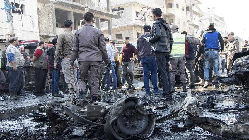 Car bombing kills seven in Azaz, Syria