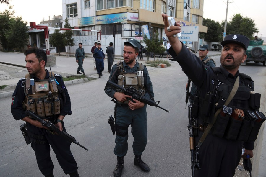 Afghan official: Policeman opens fire on colleagues, kills 7