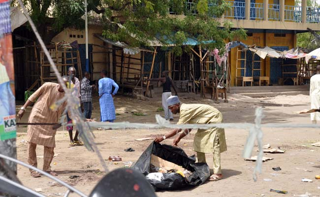 58 killed in Nigeria in two female suicide attacks