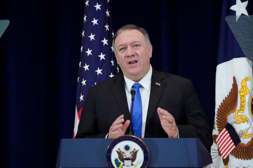Pompeo loses his temper with journalist over Ukraine questions
