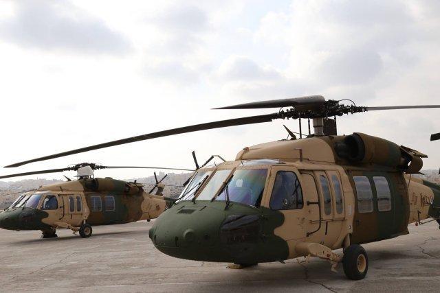 US delivers Black Hawk helicopters to bolster Jordan