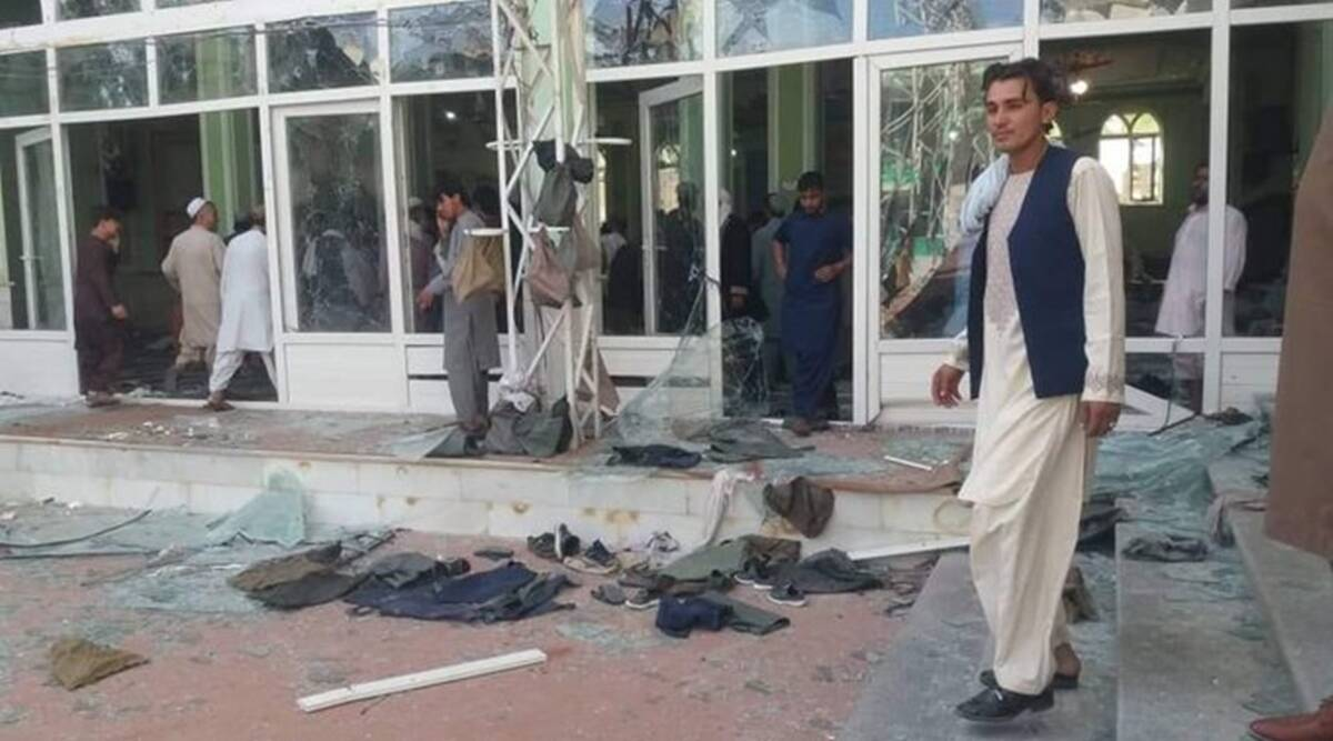 37 people killed, 70 injured as blasts hit Shia mosque in Kandahar, Afghanistan