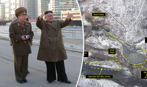 northkoreareadyingforwar:satelliteimagesshowkimjongunescalatingnuclearaction